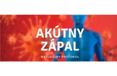 Akútny zápal - návrh konceptu terapie