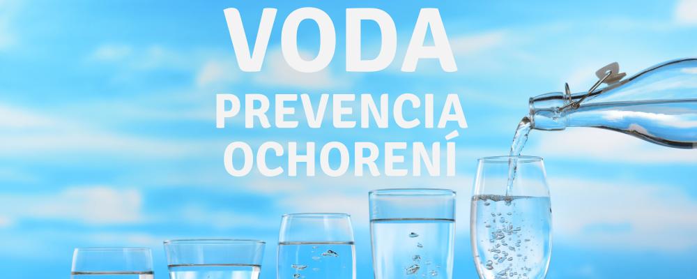 Voda ako prevencia ochorení